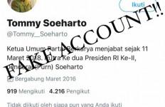Hati-hati! Ada Akun Twitter Mengklaim Sebagai Tommy Soeharto Aktif 'Serang' Jokowi - JPNN.com