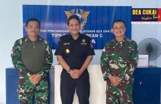 Kepala Bea Cukai Jayapura Terima Kunjungan Komandan Kodim 1701/Jayapura Rem 172/PWY - JPNN.com