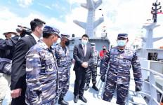 TNI AL Luncurkan Dua Kapal Perang Terbaru Produksi Dalam Negeri, Begini Keunggulannya - JPNN.com
