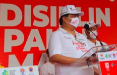 Menko Airlangga Hartarto Inisiasi Gerakan Kampanye Masker Nasional - JPNN.com
