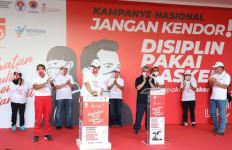 Menpora RI Hadiri Kampanye Nasional Gerakan Pakai Masker - JPNN.com