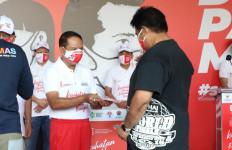 Zainudin Amali Hadiri Kampanye Nasional Gerakan Pakai Masker - JPNN.com