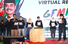 2.000 Sukarelawan Milenial Surabaya Siap Memenangkan Cak Machfud-Cak Mujiaman - JPNN.com