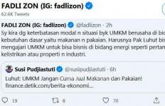 Fadli Zon Merespons Susi Pudjiastuti, Berharap kepada Luhut Panjaitan - JPNN.com