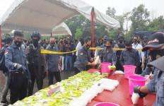 300 Kilogram Sabu-sabu Akan Disebar Hingga ke Pulau Jawa - JPNN.com