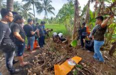 Muslimin Ditangkap, Polisi Bongkar Petak Sawah Cari Kerangka Korban Pembunuhan 8 Tahun Lalu - JPNN.com