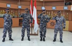Sah! Letkol Laut Homa Sugama Resmi Jadi Komandan KRI Teluk Banten - JPNN.com