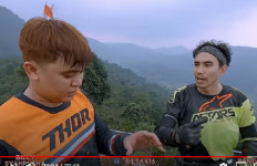 Ikut Naik Motor Trail Tangan jadi Memar,Billy Syahputra Protes kepada Ibnu Jamil - JPNN.com