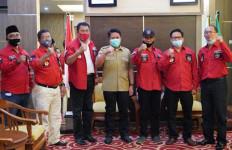 Gubernur Herman Ajak Pengurus PBB Sumsel Bergotong Royong Bantu Masyarakat - JPNN.com