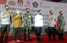 Banyak Pelanggar Protokol Kesehatan, TNI-Polri Kembali Diterjunkan untuk Mendisiplinkan Warga - JPNN.com