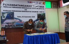 Kembali Dipercaya KemenPUPR, PT PP Tandatangani Kontrak Bendungan Way Sekampung Paket 3 - JPNN.com