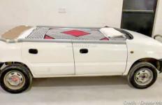 Keren, Mobil Hatchback Suzuki Disulap jadi Tempat Tidur - JPNN.com
