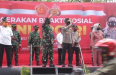 TNI-Polri Gelar Bakti Sosial Peduli Covid-19 - JPNN.com