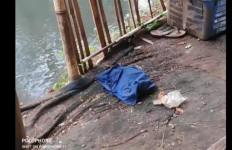 Rizal Penasaran Melihat Kantong Belanja Mengambang di Kali Baru, Ternyata Isinya Sungguh Memilukan - JPNN.com