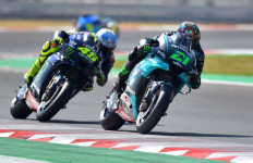 Menang di MotoGP San Marino, Morbidelli Bukti Rossi Tak Salah Pilih Murid - JPNN.com