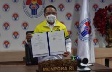 Teken MoU dengan BNPB, Menpora: Kompetisi Harus Patuh Protokol Kesehatan - JPNN.com