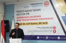 Hasil Swab Kedua Rektor IPB Negatif Covid-19 - JPNN.com