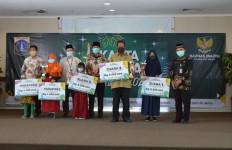 Baznas (Bazis) DKI Salurkan Bantuan Kepada Ribuan Anak Yatim dan Dhuafa - JPNN.com