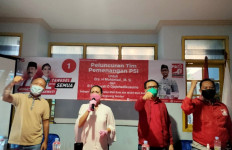 Pilkada Tangsel: PSI Luncurkan Tim Pemenangan untuk Muhamad-Saraswati - JPNN.com
