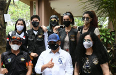 Bamsoet Mengajak Lady Bikers jadi Sukarelawan Empat Pilar MPR RI - JPNN.com