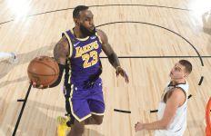 LeBron Gila! Lakers Juara Wilayah Barat NBA - JPNN.com