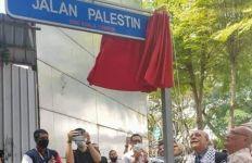 Buktikan Dukungan, Pemkot Kuala Lumpur Resmikan Jalan Palestina - JPNN.com