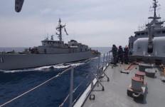 Dua Kapal Perang TNI AL Latihan Peperangan Ranjau - JPNN.com