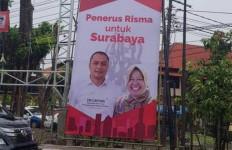 Ada Foto Bu Risma di APK Pilkada Surabaya, Boleh Enggak, ya? - JPNN.com