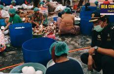 Bea Cukai Makassar Fasilitasi Ekspor Perdana Daging Kelapa ke India - JPNN.com