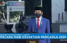 Jokowi Pimpin Upacara, Puan Ucap Ikrar Setia Pancasila, Muhadjir Baca Doa - JPNN.com