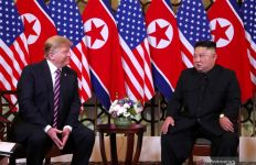 Begini Reaksi Kim Jong Un Mendengar Donald Trump Kena COVID-19 - JPNN.com