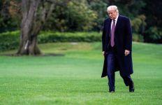 Detik-Detik Donald Trump Tinggalkan Gedung Putih, Ada Tradisi yang Dilanggar - JPNN.com