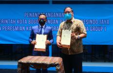 Teh Pucuk Harum Food Street, Lokasi Wisata Kuliner Baru di GOR Pajajaran Bogor - JPNN.com