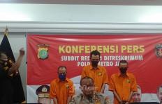 Empat Penadah BTS Curian di Jaktim Digulung Polisi, Tuh Tampangnya - JPNN.com