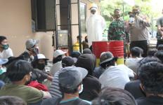 Hendak Berdemo ke DPR, 89 Remaja Diamankan, 2 Di Antaranya Positif Corona - JPNN.com