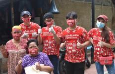 Casablanca Indonesia Membagikan Sembako dan Masker - JPNN.com