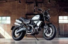 Gagahnya Sepeda Motor Ducati Scrambler 100 Dark Pro, Sebegini Harganya - JPNN.com
