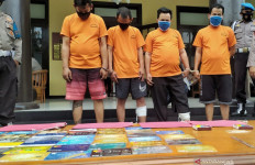 4 Pencuri Modus Ganjal ATM Ditangkap, Dua Pelaku Langsung Ditembak di Kaki, Nih Penampakannya - JPNN.com