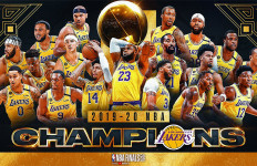 LA Lakers Juara NBA 2020, LeBron James MVP - JPNN.com