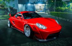 Kerennya Porsche Cayman Pakai Bodykit Bikinan Indonesia, Sebegini Harganya - JPNN.com