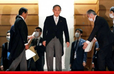 Pernyataan Tegas PM Suga soal Laut China Selatan, Singgung Kekuatan Armada Jepang - JPNN.com