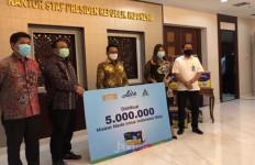 GP Ansor NU dan KSP Bakal Distribusikan 5 Juta Masker dari Grup Aice - JPNN.com