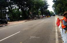 Begini Situasi Dekat Istana Negara Jelang Aksi BEM Seluruh Indonesia - JPNN.com