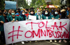 Berapa Massa Buruh Demo Hari Ini di Depan Istana? Said Iqbal: Dari 32 Konfederasi - JPNN.com