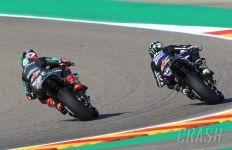 FP3 MotoGP Aragon: Quartararo Dilarikan ke Pusat Kesehatan, Ducati Tak Masuk 10 Besar - JPNN.com