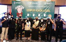Ini Rangkaian Penegakan Hukum Bidang Cukai di Jawa TImur - JPNN.com