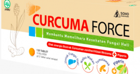 Lindungi Kesehatan Hati danJaga Daya Tahan Tubuh dengan Curcuma Force