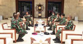 Enam Pati TNI AL Kompak Menghadap KSAL Laksamana Yudo, Ada Apa?