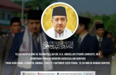 Innalillahi, KH Abdullah Syukri Meninggal, Indonesia Kehilangan Pembina Umat - JPNN.com