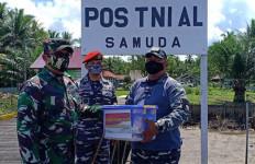 TNI AL Dukung Sukseskan TMMD di Pulau Hanaut - JPNN.com